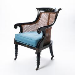 William IV mahogany frame gondola chair - 1729757