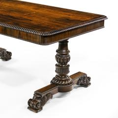 William IV rosewood partners library table by Gillows - 1397845