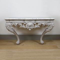 William Jones A George II painted console table - 931277