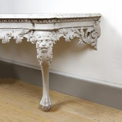 William Jones A George II painted console table - 931279