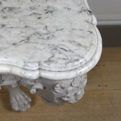 William Jones A George II painted console table - 931282
