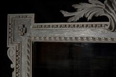 William Kent Antique Painted Palladian Overmantel Mirror - 1214503