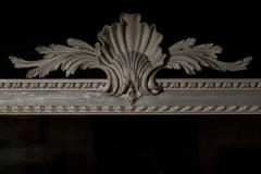 William Kent Antique Painted Palladian Overmantel Mirror - 1214504