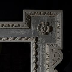 William Kent Antique Painted Palladian Overmantel Mirror - 1214505