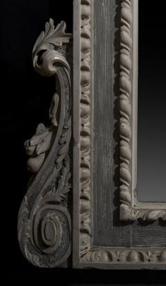 William Kent Antique Painted Palladian Overmantel Mirror - 1214507