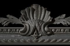 William Kent Antique Painted Palladian Overmantel Mirror - 1214508