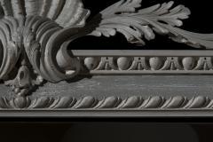 William Kent Antique Painted Palladian Overmantel Mirror - 1214509