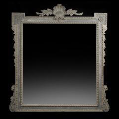 William Kent Antique Painted Palladian Overmantel Mirror - 1214510
