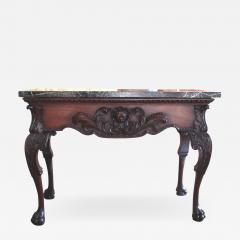 William Kent George II III mahogany marble topped large pier table in Kent style - 2075723