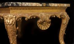 William Kent Important George II Period Giltwood Console Sidetable of Immense Proportions - 1141208