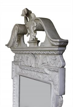 William Kent Pair of 18th Century George II Grey Painted Tablet Mirrors in the Manner of Kent - 666389