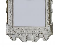 William Kent Pair of 18th Century George II Grey Painted Tablet Mirrors in the Manner of Kent - 666391