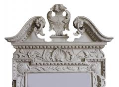 William Kent Pair of 18th Century George II Grey Painted Tablet Mirrors in the Manner of Kent - 666397