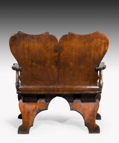 William Kent Rare Mahogany Settee Bench of the William Kent Period - 1141202