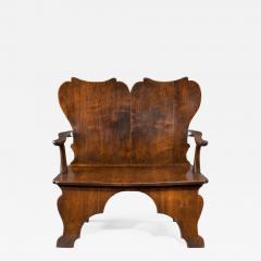 William Kent Rare Mahogany Settee Bench of the William Kent Period - 1141754