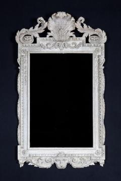 William Kent William Kent Georgian Period White Painted Mirror Looking Glass - 1137649