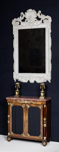 William Kent William Kent Georgian Period White Painted Mirror Looking Glass - 1137652