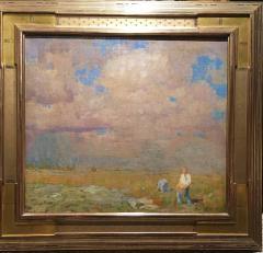 William Langson Lathrop A Distant Shower - 641398