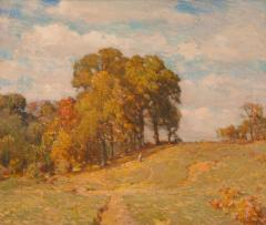 William Langson Lathrop White Oaks and Persimmon Trees - 100958