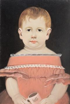 William Matthew Prior Prior Portrait of Child with Mug - 337533