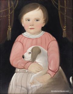 William Matthew Prior The Bond Between J Ely Brown and His Dog William Matthew Prior