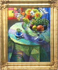 William Michaut Still Life With Fruit And Flowers - 1113997