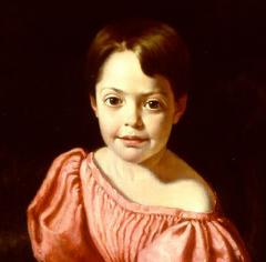 William Page Young Girl in Pink - 692837