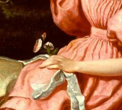 William Page Young Girl in Pink - 692838