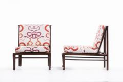William Pahlmann WILLIAM PAHLMANN THEBES CHAIRS WITH SNAKE FABRIC CIRCA 1964 - 1921858