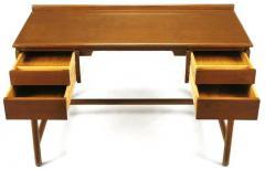 William Pahlmann William Pahlmann Four Drawer Walnut Desk with Integral Bookshelf - 279109