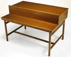 William Pahlmann William Pahlmann Four Drawer Walnut Desk with Integral Bookshelf - 279110