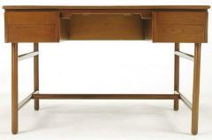 William Pahlmann William Pahlmann Four Drawer Walnut Desk with Integral Bookshelf - 279113