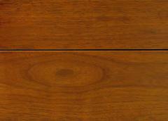 William Pahlmann William Pahlmann Four Drawer Walnut Desk with Integral Bookshelf - 279115