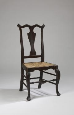 William Savery A Philadelphia maple rush seat side chair attributed to William Savery - 1022786