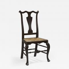 William Savery A Philadelphia maple rush seat side chair attributed to William Savery - 1023288