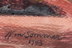 William Sommer Brandywine Landscape With Goats - 870108