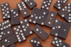 William Spratling William Spratling 1960s Ebony and Silver Set of Dominoes - 1389508