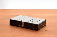 William Spratling William Spratling 1960s Ebony and Silver Set of Dominoes - 1389509