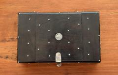 William Spratling William Spratling 1960s Ebony and Silver Set of Dominoes - 1389510