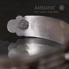 William Spratling William Spratling Cuff Bracelet Sterling Brass Amethyst - 203733