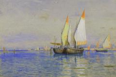 William Stanley Haseltine Fishing Boats Venice - 1201429