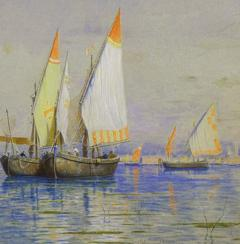 William Stanley Haseltine Fishing Boats Venice - 1201430