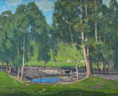 William Wendt Green Pastures and Pond - 1452127