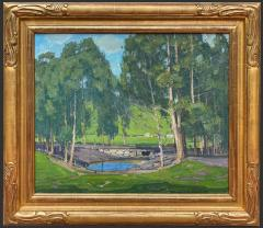 William Wendt Green Pastures and Pond - 1452128