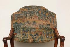 William and Mary Period Walnut X Frame Chair - 1821981