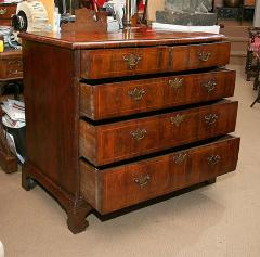 William and Mary Yew Wood Veneered Chest of Drawers - 263605