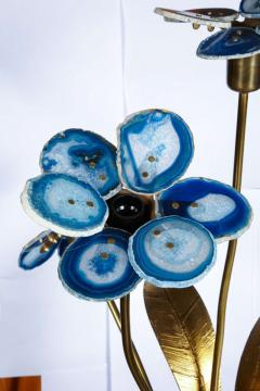 Willy Daro Awesome agate lamp by Willy Daro - 1208197