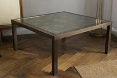 Willy Daro Coffee table by Willy Daro Belgium circa 1970 - 2118895