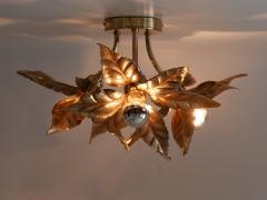Willy Daro Large Mid Century Modern Ceiling Fixture or Wall Lamp by Willy Daro for Massive - 1801405