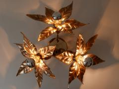 Willy Daro Large Mid Century Modern Ceiling Fixture or Wall Lamp by Willy Daro for Massive - 1801409